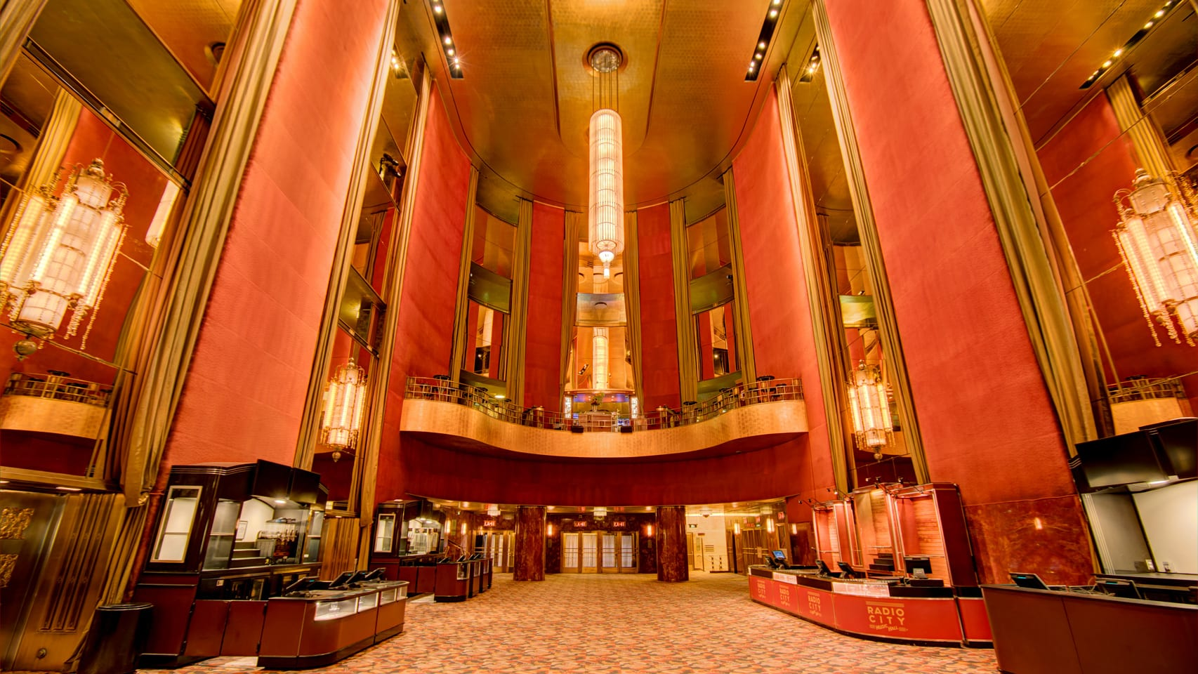 Radio City Music Hall Grand Foyer Rental