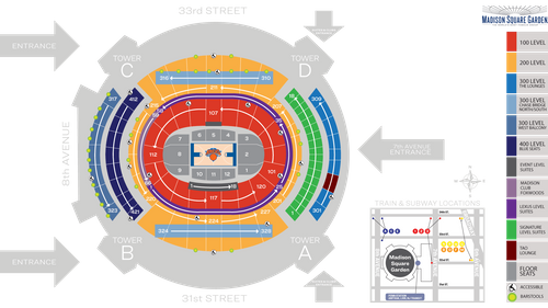 Madison Square Garden Seat Map | MSG | Official Site on ryman auditorium seat map, hard rock live orlando seat map, ppl center seat map, mandalay bay events center seat map, royal farms arena seat map, carlson center seat map, town hall seat map, mgm grand arena seat map, apollo theater seat map, cricket pavilion seat map, the forum seat map, mts center seat map, energysolutions arena seat map, usana amphitheatre seat map, gila river arena seat map, kentucky speedway seat map, mckale center seat map, smoothie king center seat map, artpark seat map,