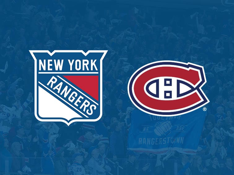 Rangers vs. Canadiens Tickets Madison Square Garden