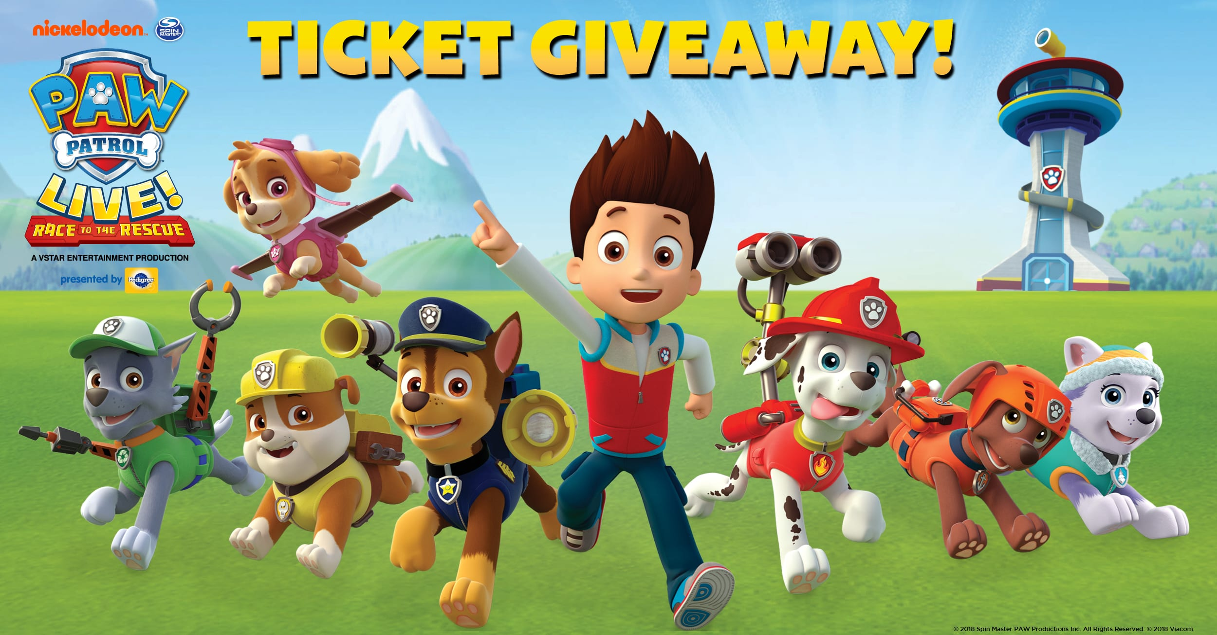 Paw Patrol Live Tickets Chicago Theatre