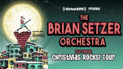 Siriusxm Christmas Music.Brian Setzer Orchestra S Christmas Rocks Tour Tickets