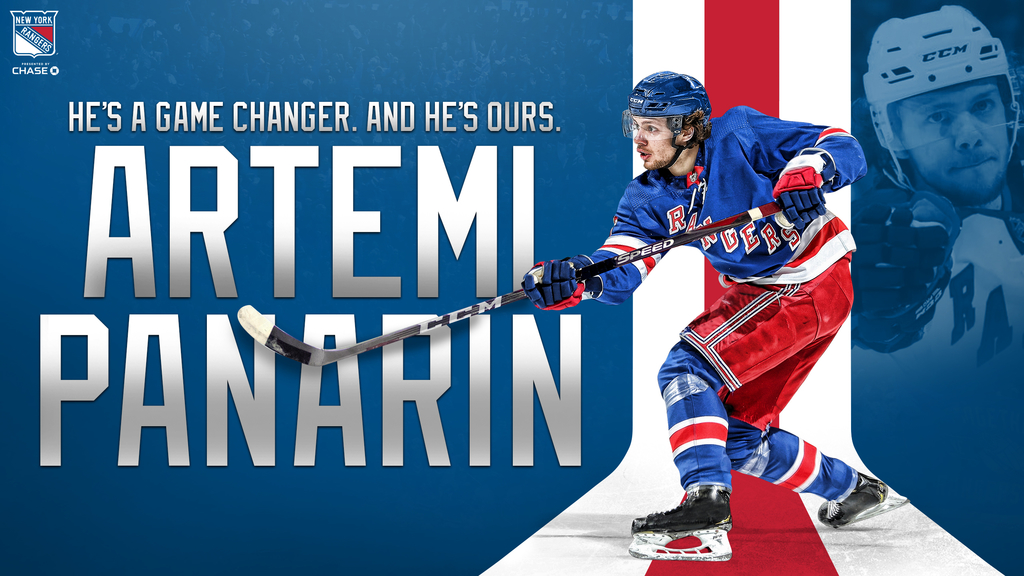 New York Rangers Artemi Panarin Madison Square Garden