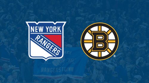 boston bruins ny rangers