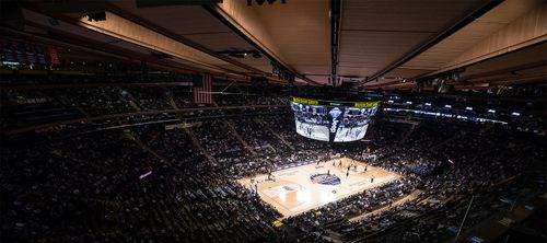 College Sports At Madison Square Garden